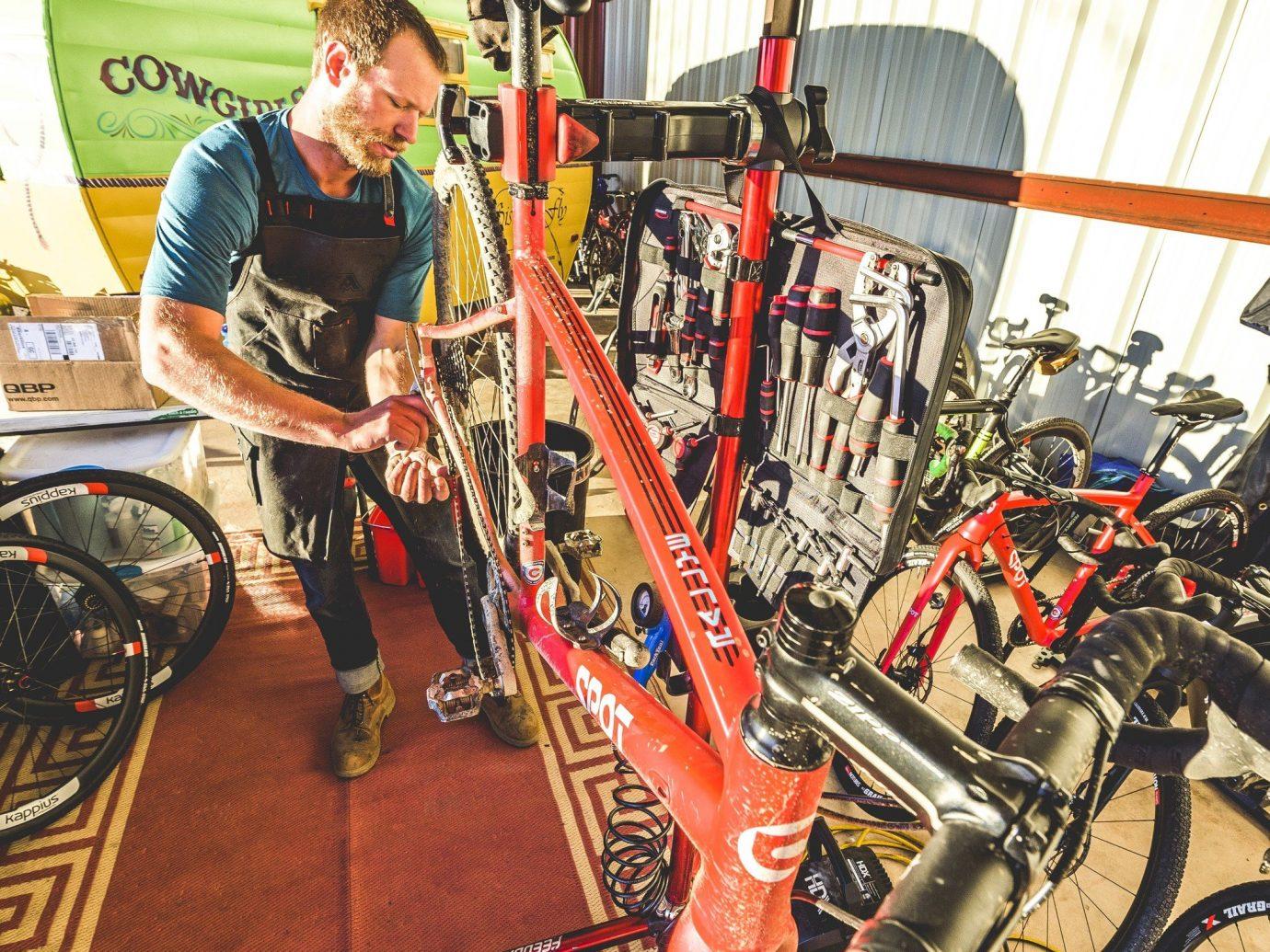Health + Wellness Meditation Retreats Trip Ideas Yoga Retreats indoor bicycle structure vehicle sport venue machine
