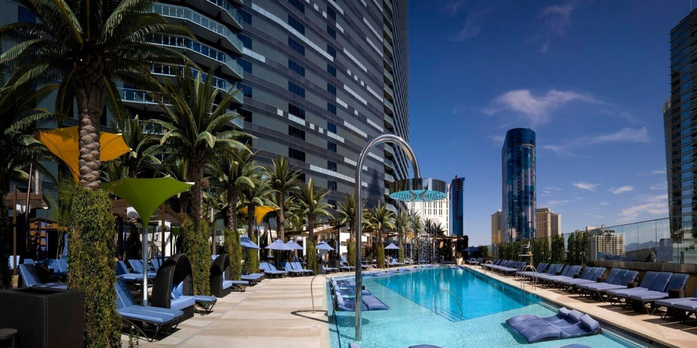 Trip Ideas outdoor condominium landmark building Resort plaza swimming pool Downtown skyscraper cityscape arecales marina lined
