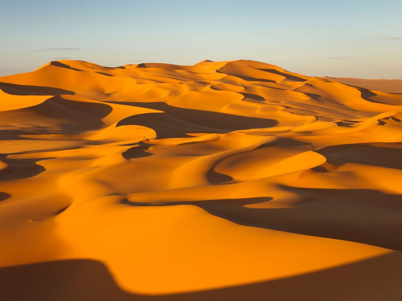 Trip Ideas erg habitat sahara geographical feature Desert natural environment Nature landform aeolian landform dune landscape sand wadi formation Sunset