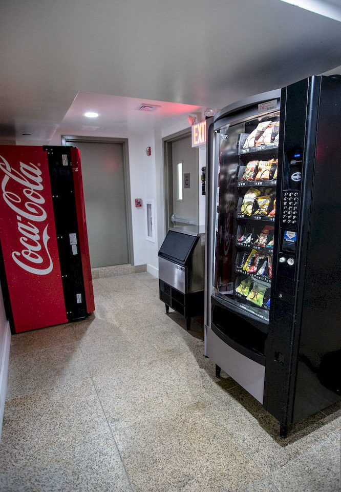 open shelf public transport machine vending machine