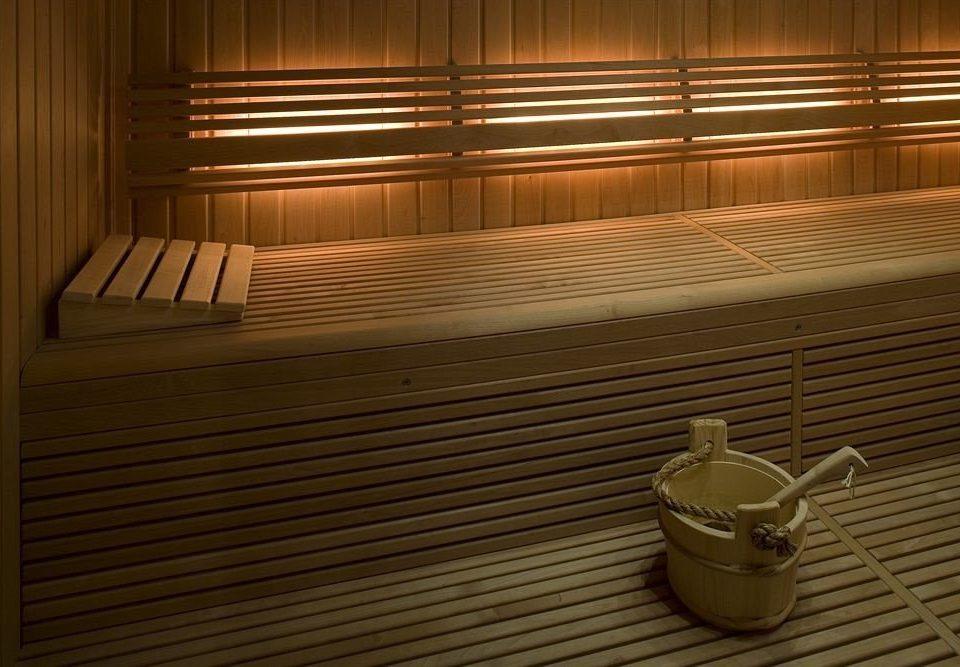 man made object sauna