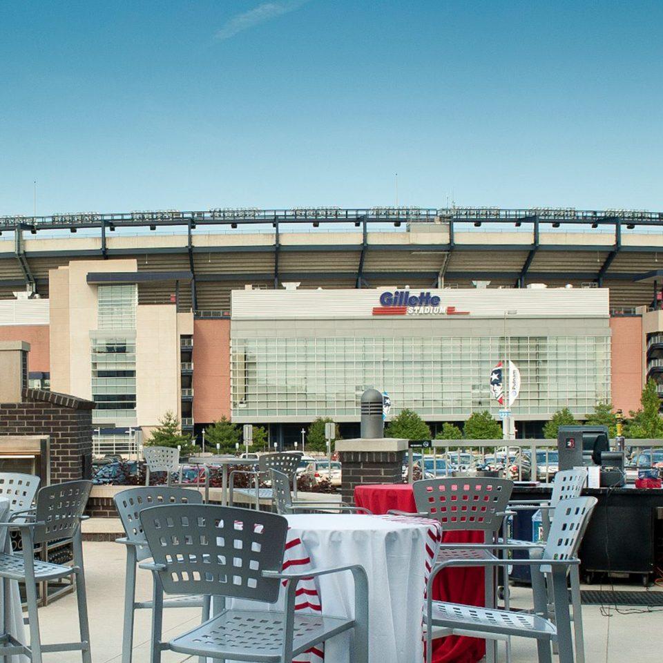 Modern sky structure stadium sport venue arena convention center plaza
