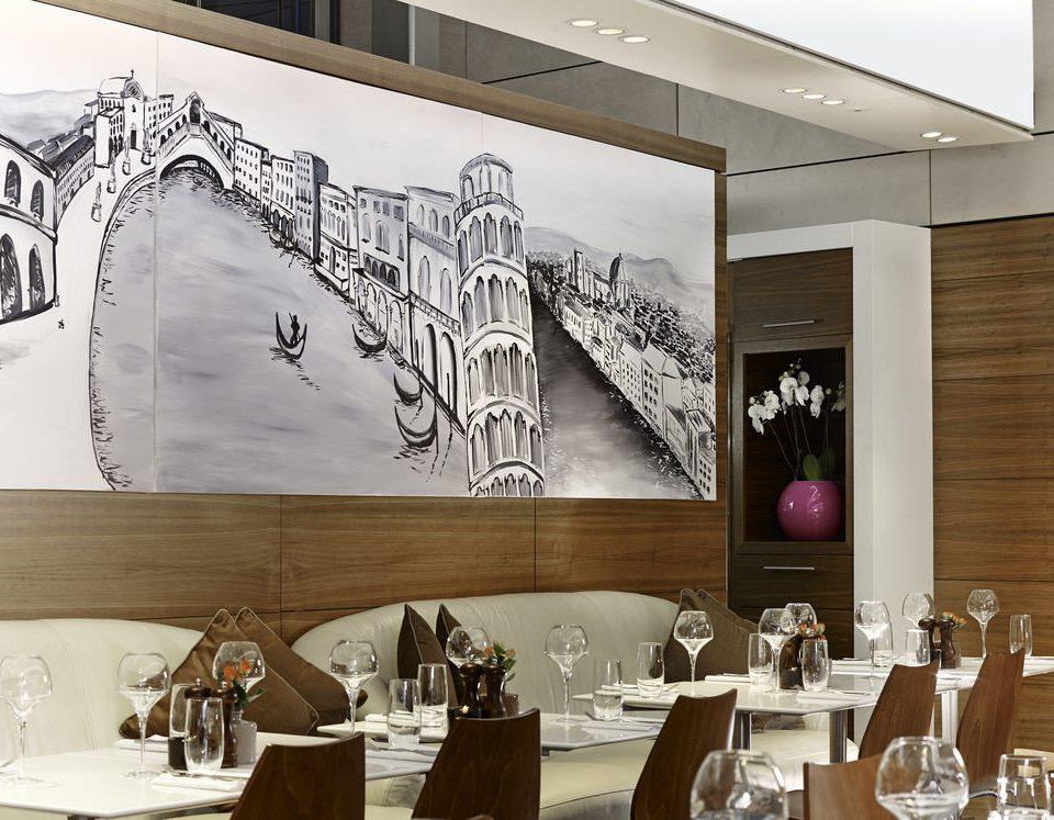 restaurant modern art
