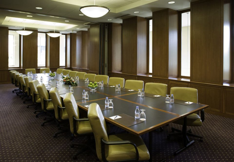 conference hall function hall auditorium meeting convention center ballroom banquet conference room Modern lined