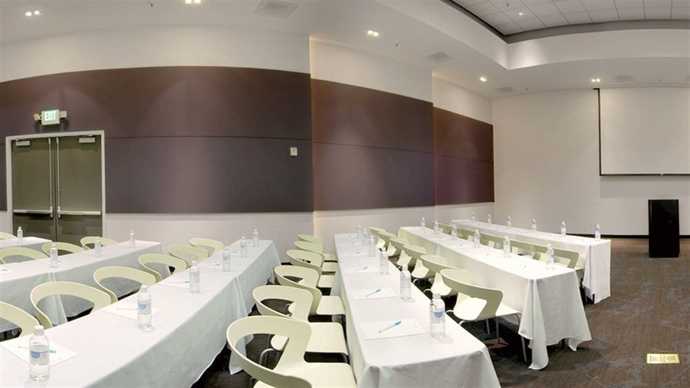 auditorium conference hall function hall convention center restaurant Modern conference room