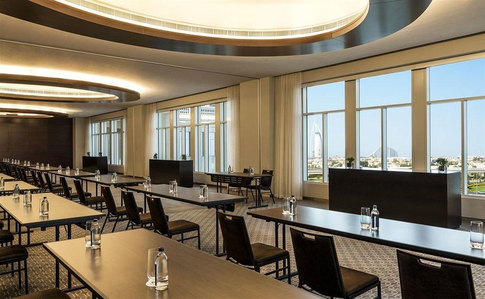 conference hall convention center restaurant auditorium Modern