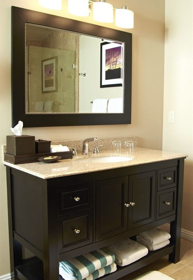 cabinet mirror bathroom cabinetry sink counter bathroom cabinet vanity Modern