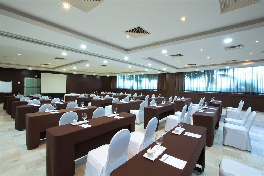 chair scene conference hall function hall restaurant convention center yacht cafeteria Modern conference room