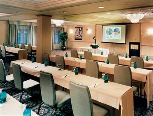 chair conference hall classroom function hall convention center meeting restaurant office Modern conference room