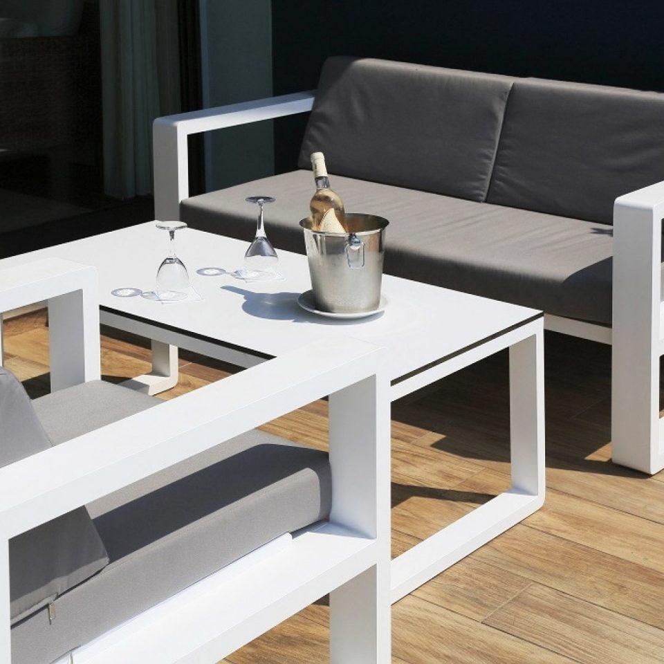 desk product living room white coffee table seat Modern set sofa