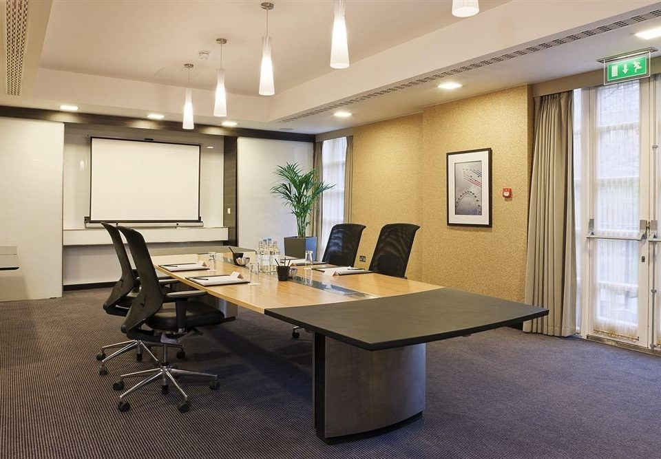 property office conference hall waiting room condominium living room Modern
