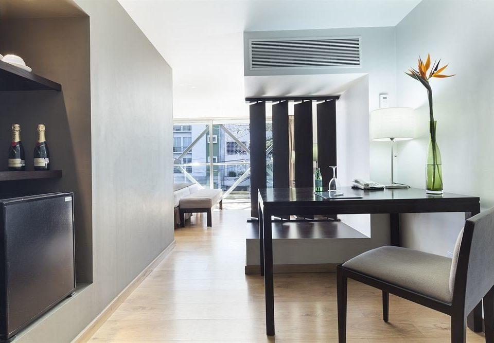 property living room home hardwood lighting wood flooring condominium flooring loft Modern dining table