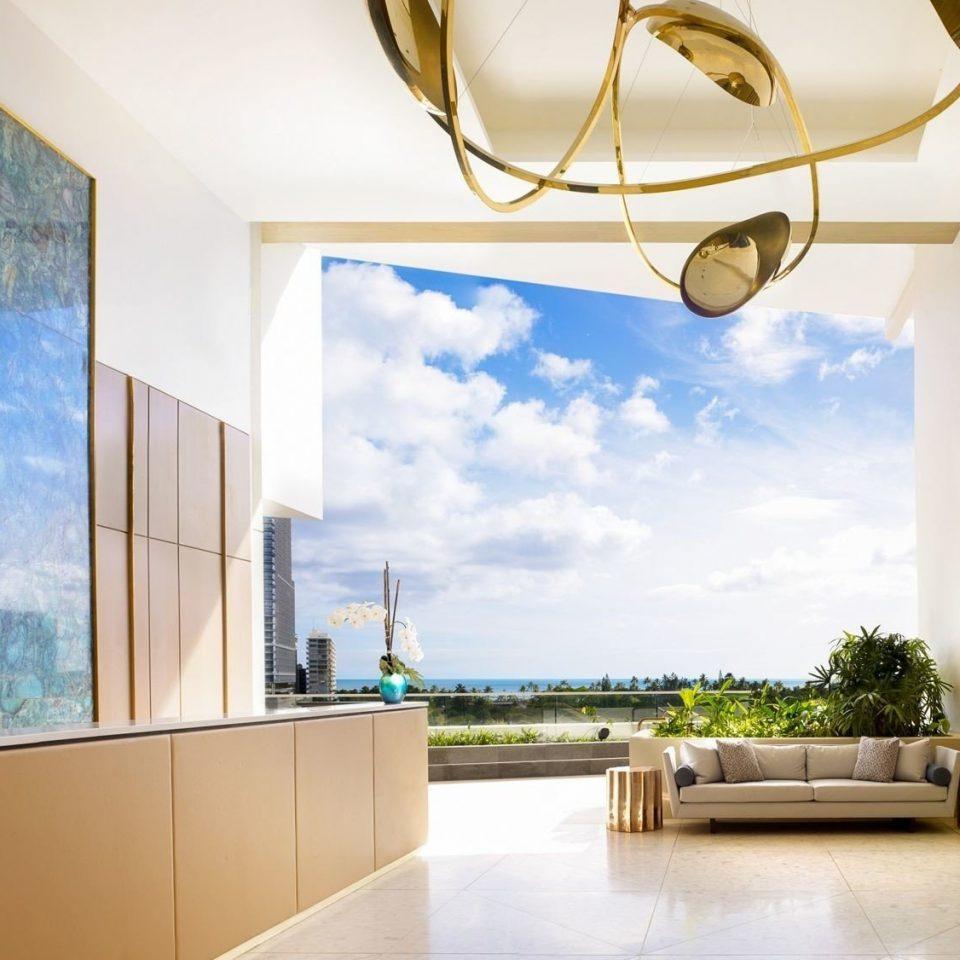 property living room home house lighting mural modern art condominium Modern