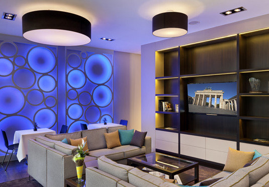 living room lighting home condominium Modern