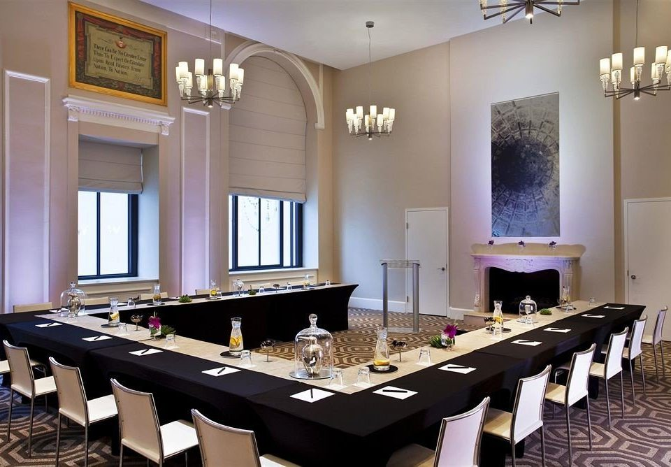 property conference hall function hall home restaurant recreation room Modern