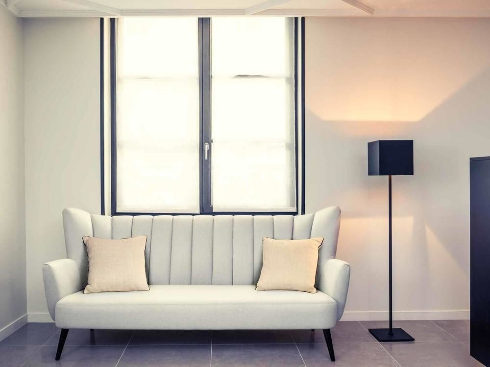 living room seat sofa lighting couch Modern