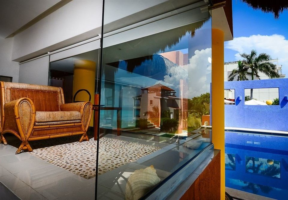 Modern Pool Scenic views Tropical Waterfront property house home condominium Resort Villa