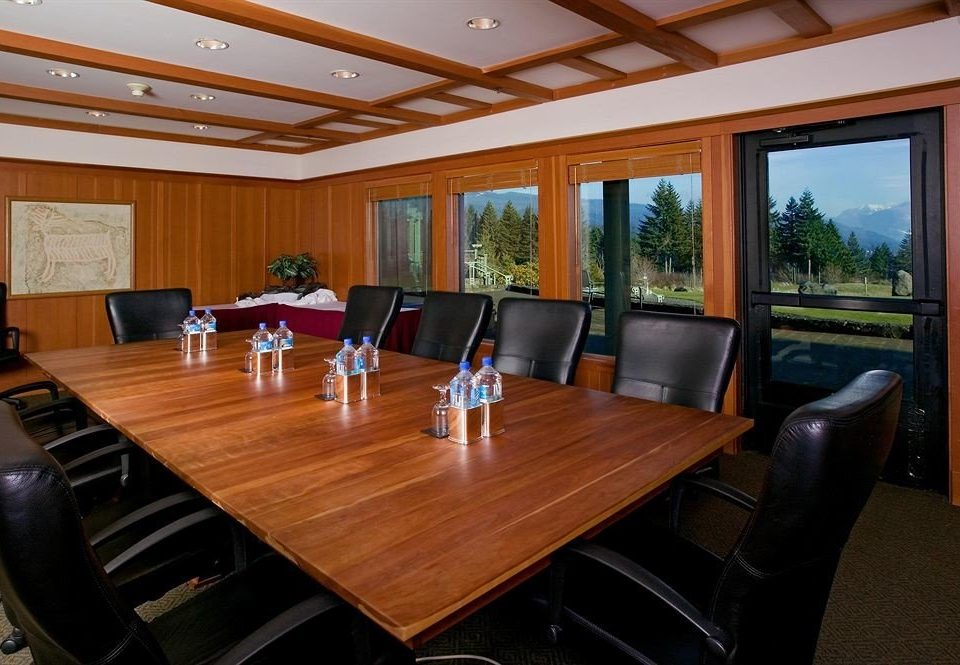 property conference hall recreation room billiard room living room Resort condominium Modern conference room dining table