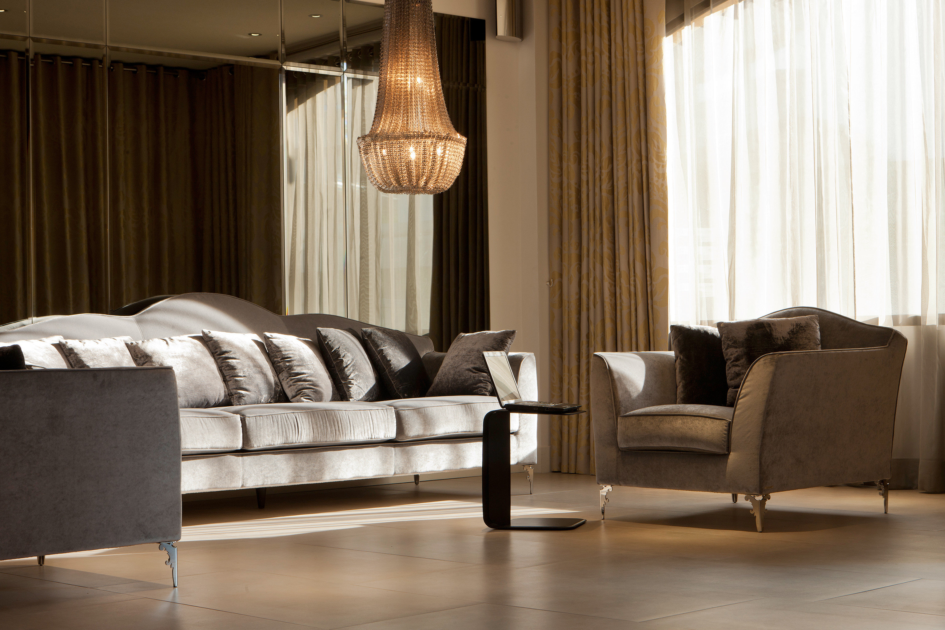 Modern Resort sofa curtain living room hardwood home wood flooring flooring window treatment