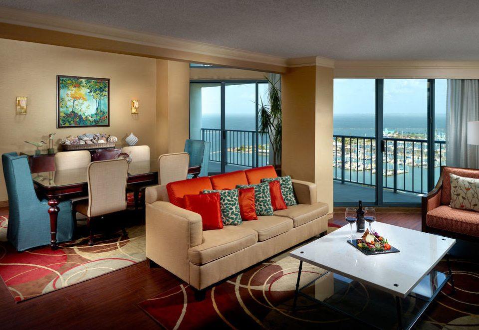 sofa property living room Suite condominium home red Villa Resort cottage flat Modern