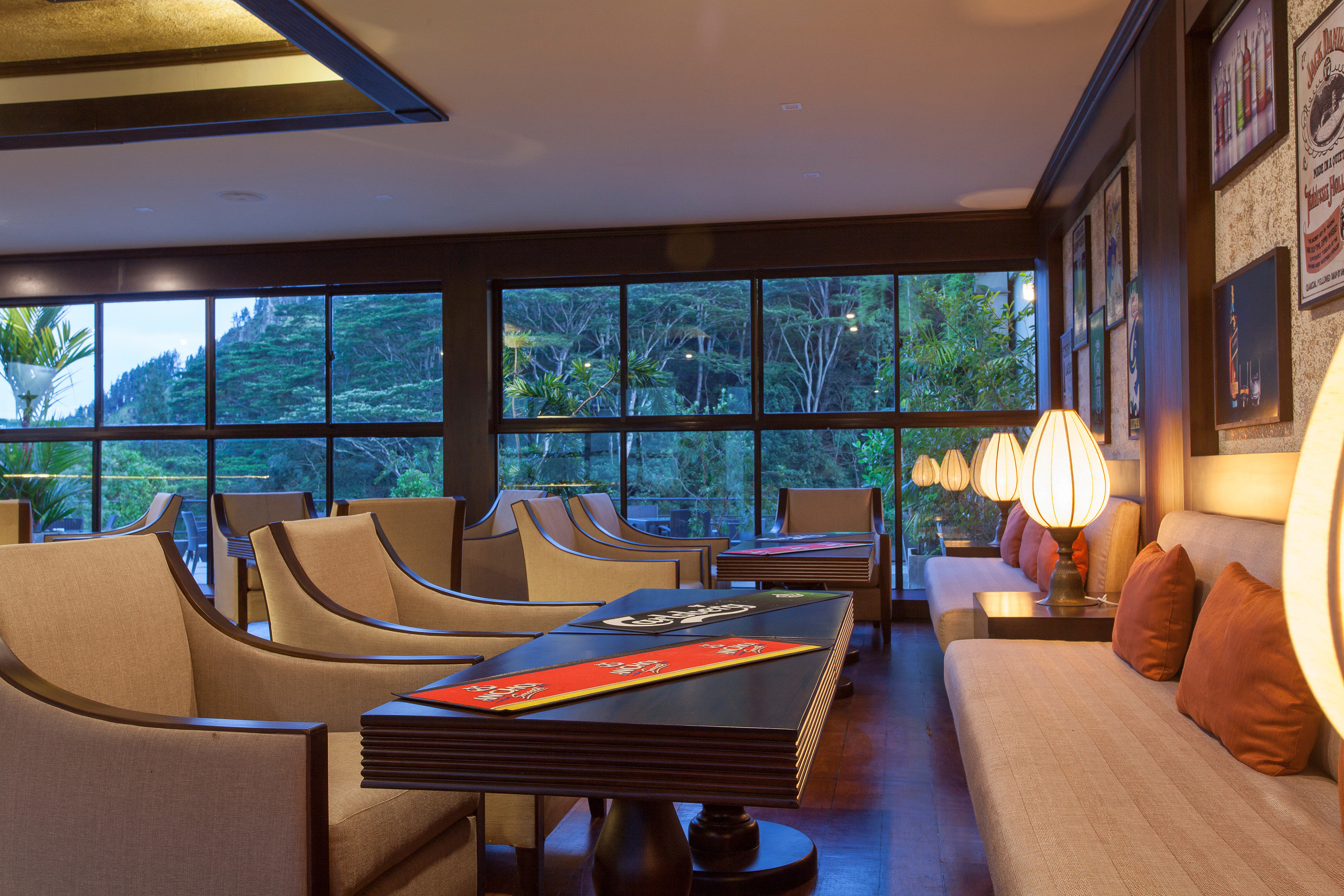 property Resort house home Villa condominium living room Suite swimming pool cottage Modern dining table