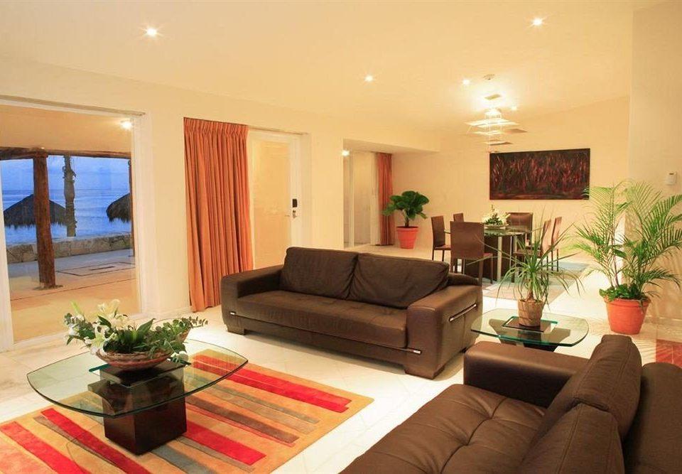 Modern Resort Waterfront sofa property living room condominium home Suite Villa cottage flat leather