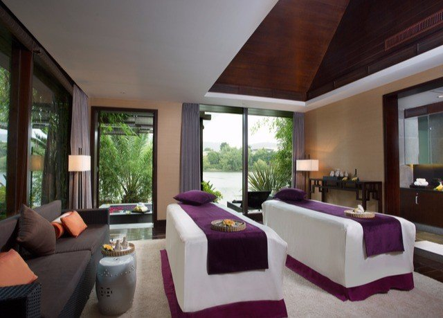 sofa property condominium living room Resort Suite Villa home Modern