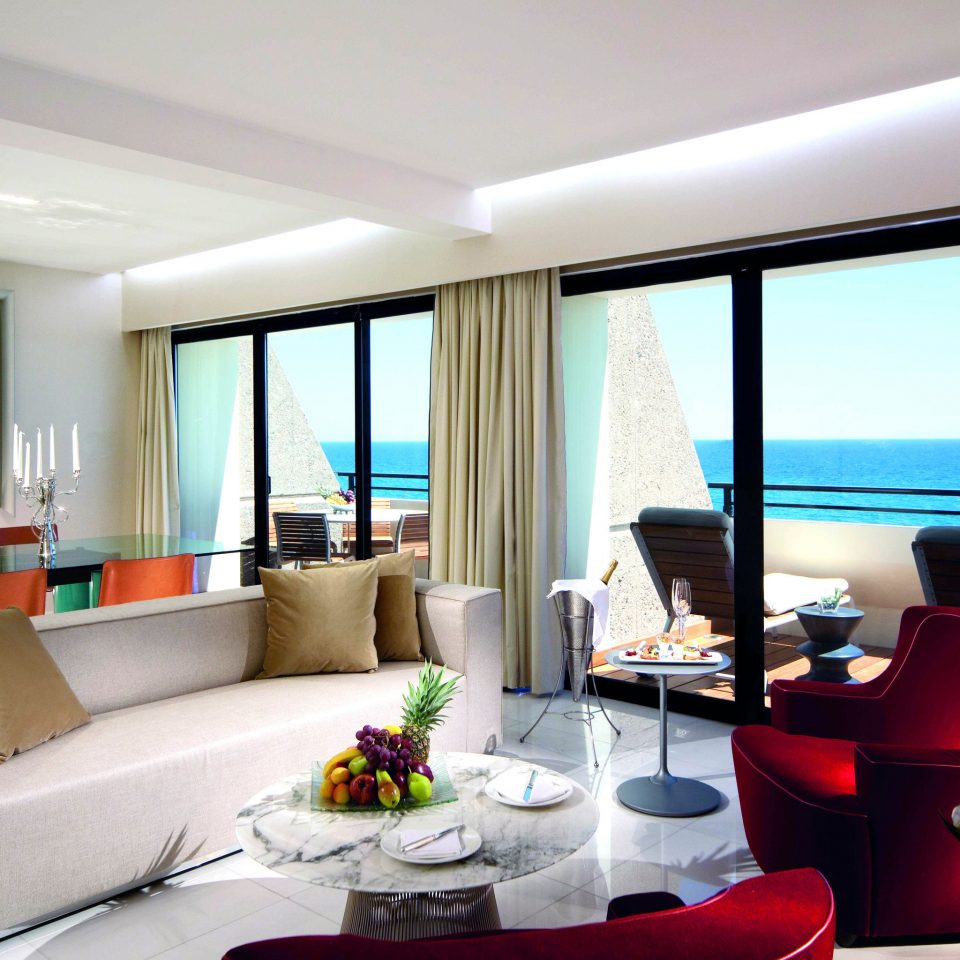 condominium property living room home Suite Villa Resort nice flat Modern dining table