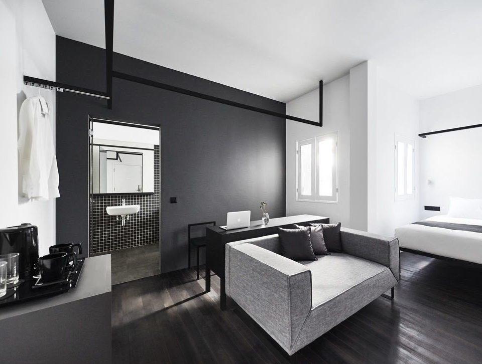 living room Suite flooring interior designer angle loft house Modern
