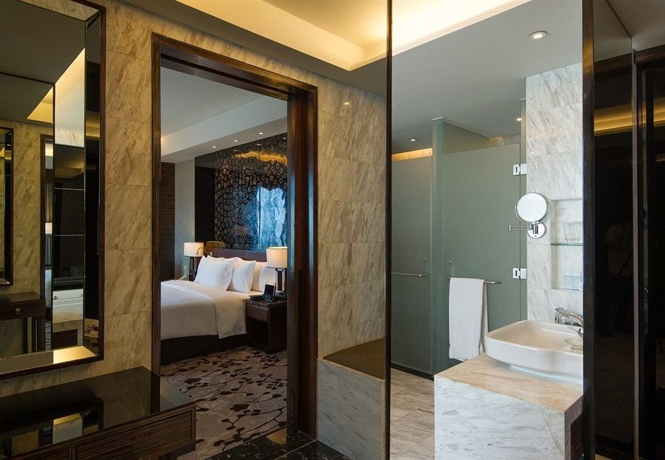 bathroom property mirror building Suite home Modern