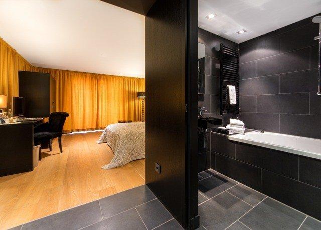 property Suite bathroom sink condominium Modern steel stainless