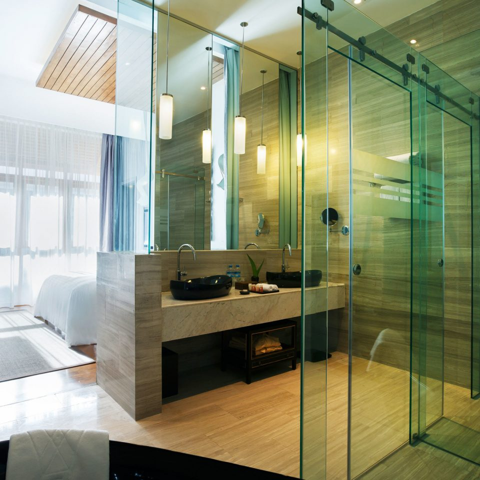 property house home lighting bathroom Suite Modern condominium