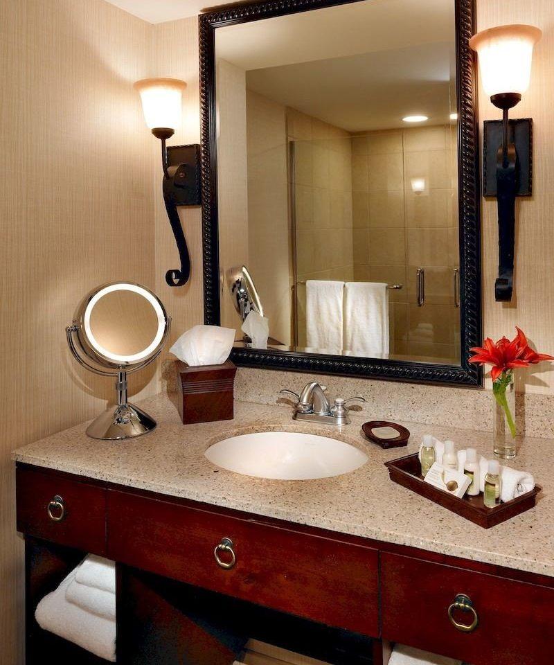 bathroom mirror sink Suite home counter vanity countertop Modern