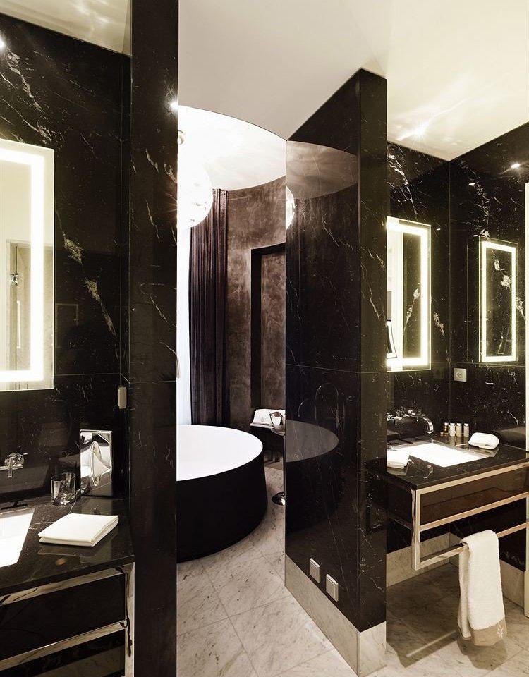 bathroom property lighting home Suite plumbing fixture flooring Modern