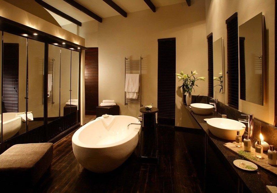 bathroom sink property mirror Suite swimming pool home Modern