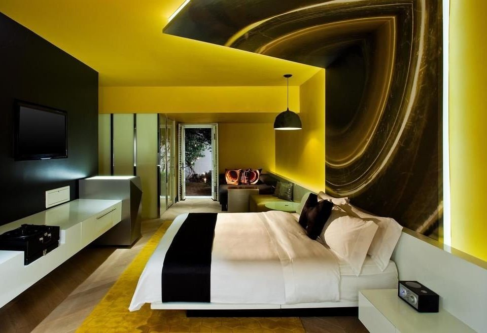 color living room yellow property home Suite flat Modern