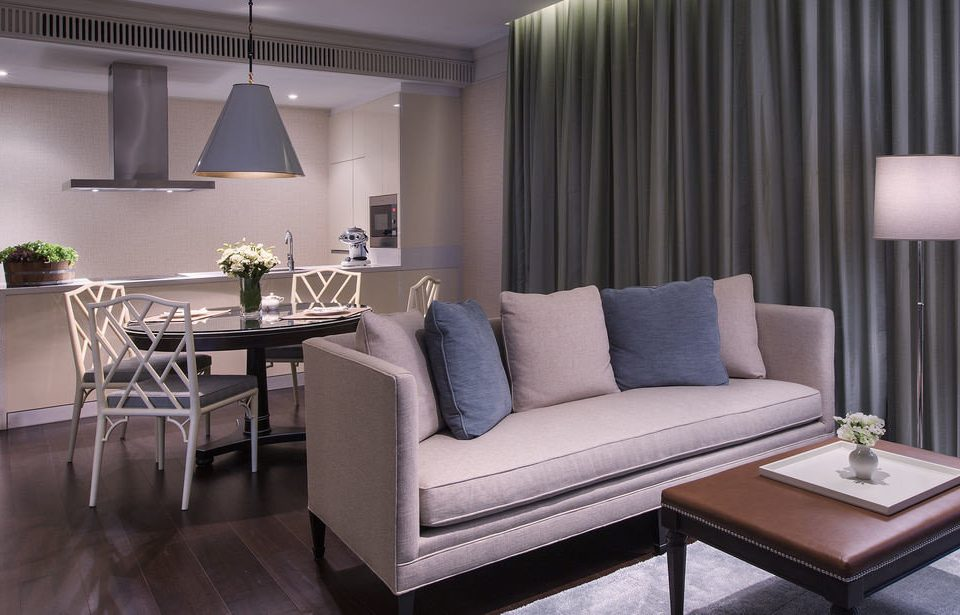 sofa curtain living room property Suite condominium home Modern leather lamp