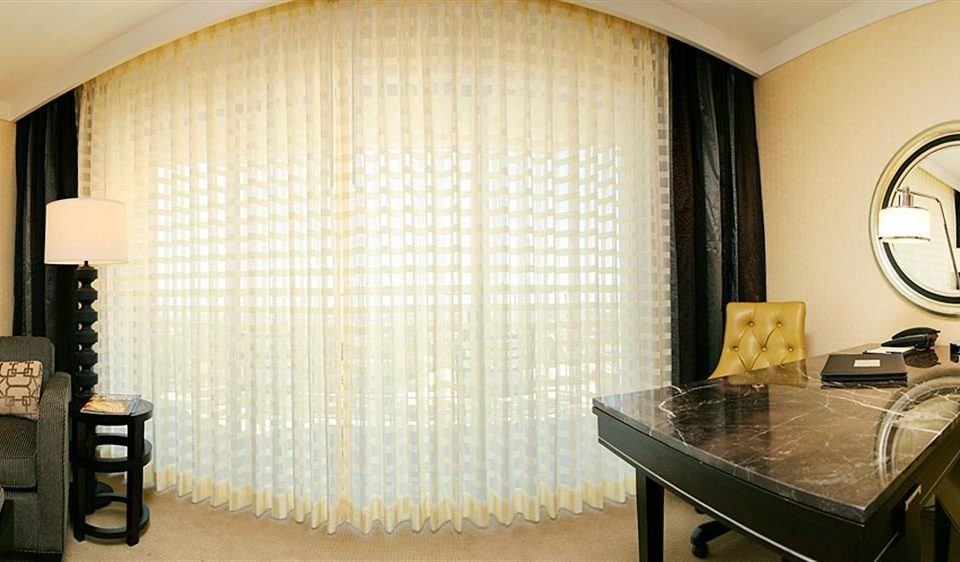 property Suite curtain window treatment textile living room condominium decor material Modern dining table