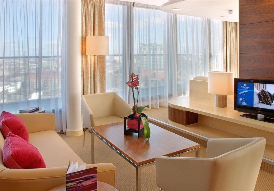 sofa property living room home glass condominium Suite flat window treatment Modern