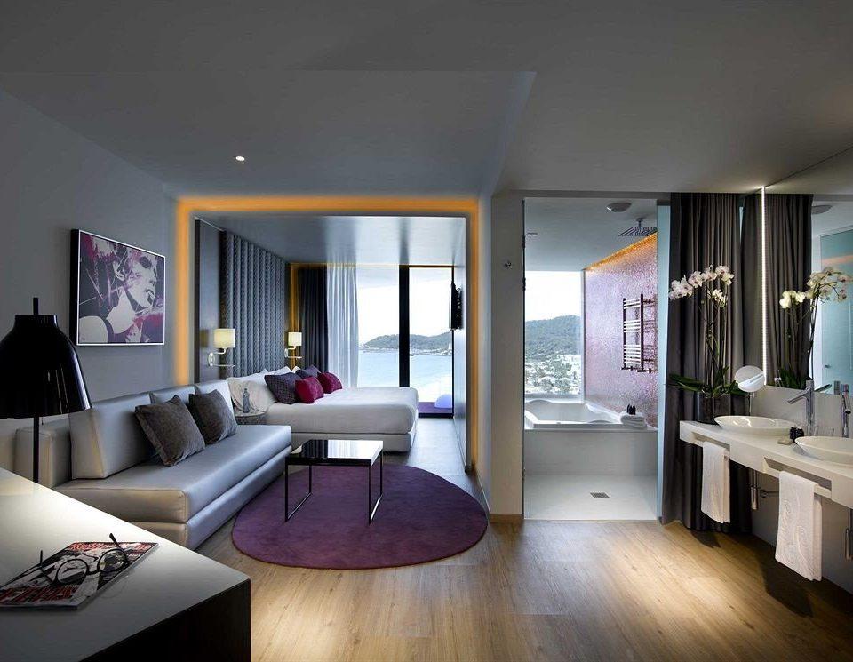 property living room condominium home lighting Suite loft flat Modern