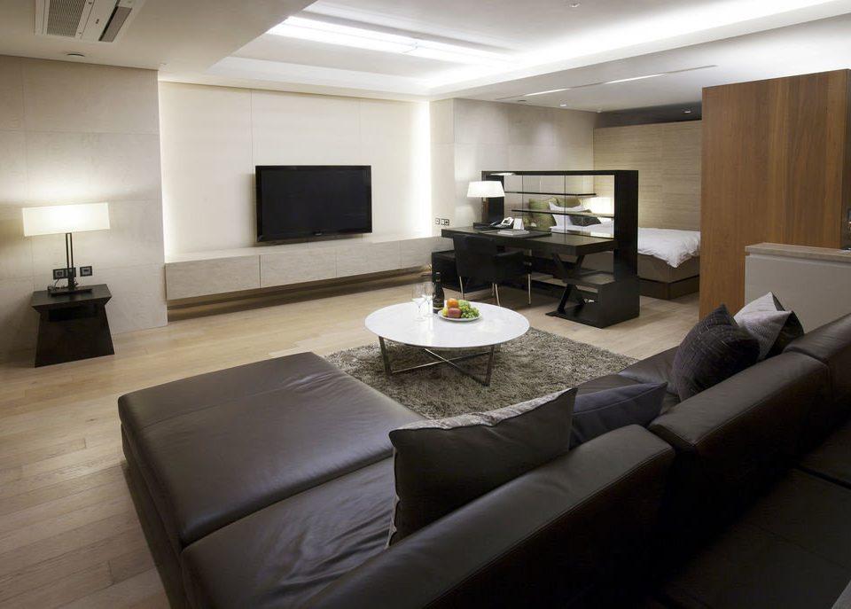 property living room condominium home Suite Modern