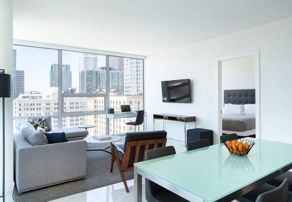 property condominium living room home Suite loft Modern