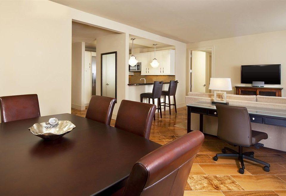 chair property Suite living room desk condominium home Villa cottage leather Modern