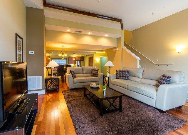 property living room Suite condominium hardwood home Villa cottage Modern