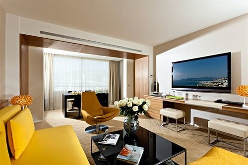 condominium property living room Suite home Villa flat Modern