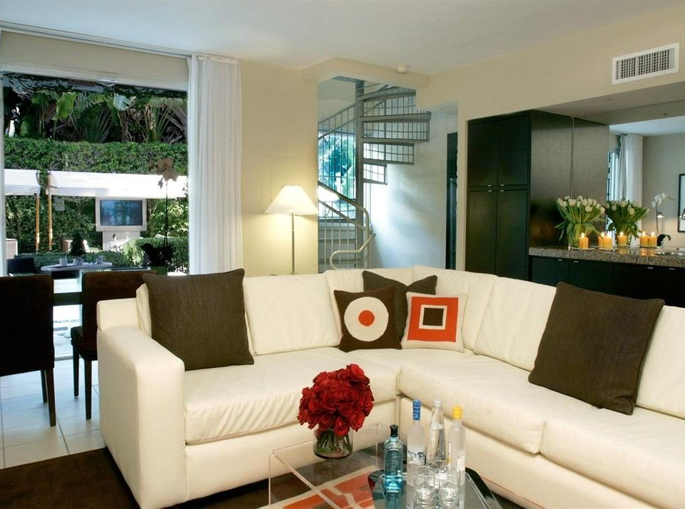 sofa living room property condominium home white Villa Suite cottage mansion Modern