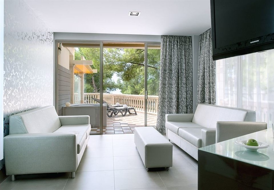 property condominium living room home white Suite Villa Modern
