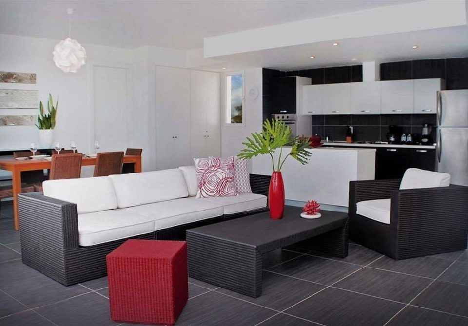 property living room condominium red Suite Villa Modern
