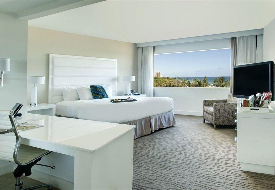 white property living room condominium home Suite Villa Modern