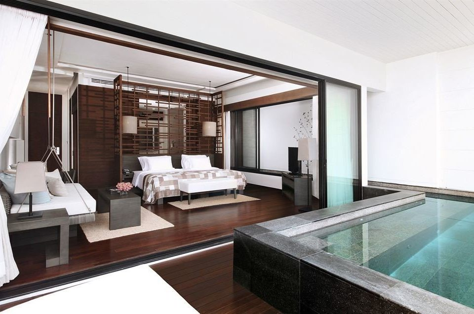 property living room home swimming pool condominium Suite Villa Modern